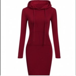 Dresses & Skirts - Hooded Sweatshirt Dress